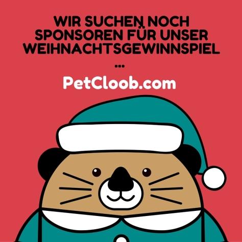 Weihnachtsgewinnspiel sponsor petcloob